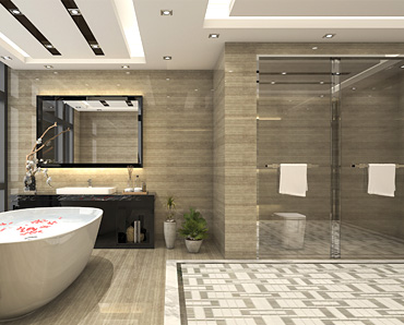 Modern bathroom design and construction